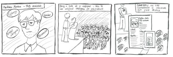 Storyboard Comic