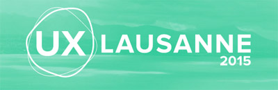 Konferenz UX Lausanne