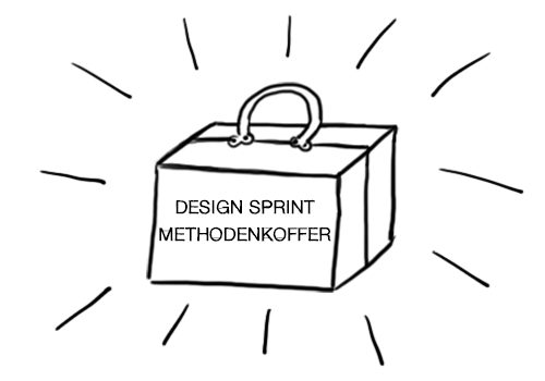 Design Sprint Methodenkoffer